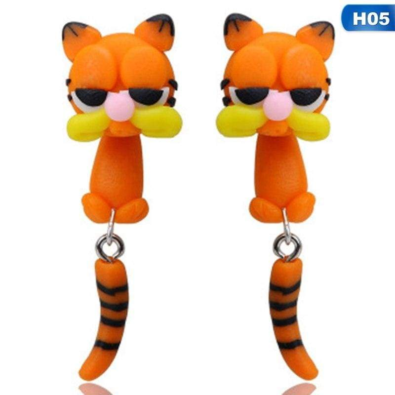 Cute Animal Earrings - H05 - Stud Earrings
