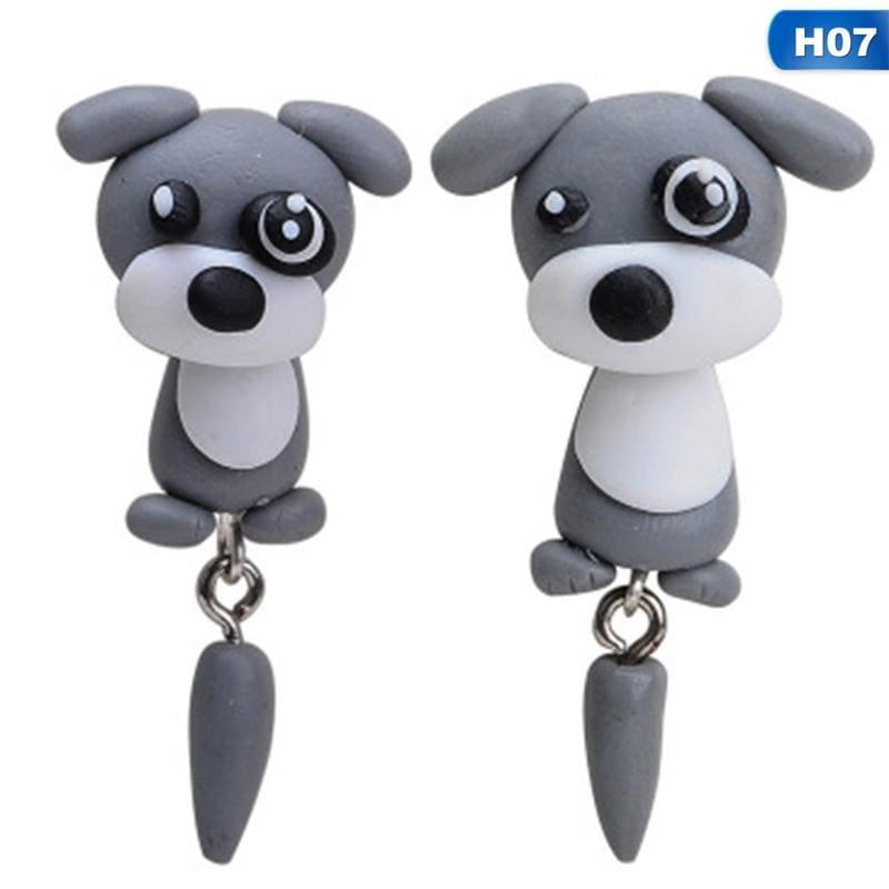 Cute Animal Earrings - H07 - Stud Earrings