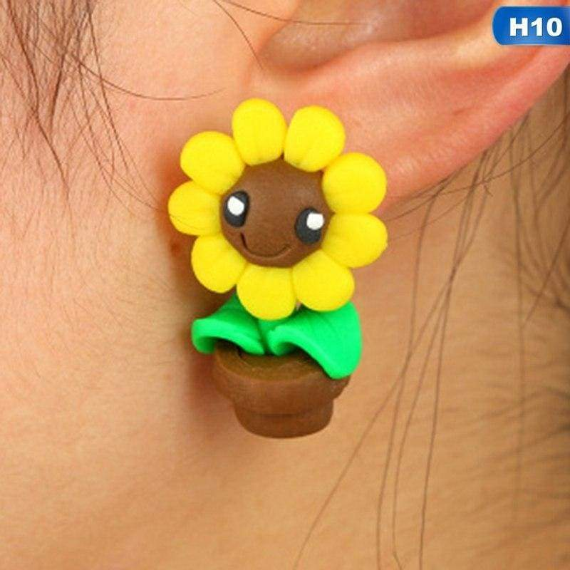 Cute Animal Earrings - H10 - Stud Earrings