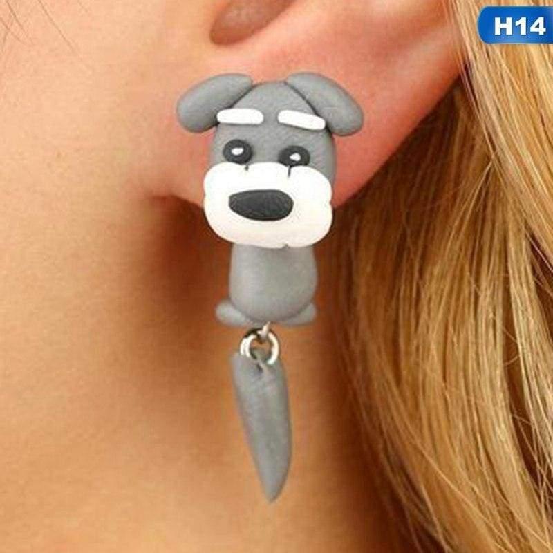 Cute Animal Earrings - H14 - Stud Earrings