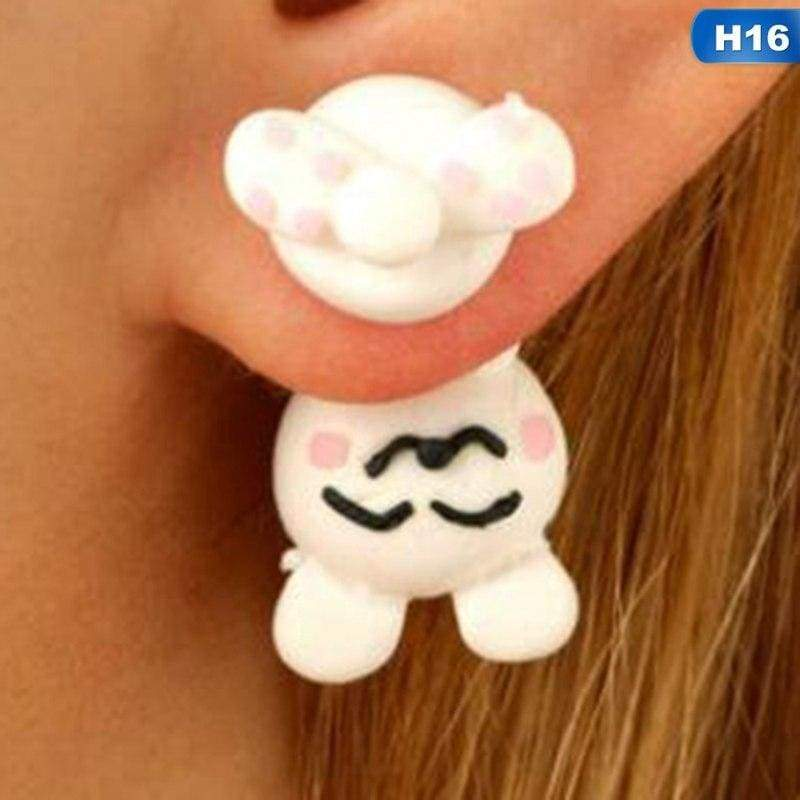 Cute Animal Earrings - H16 - Stud Earrings