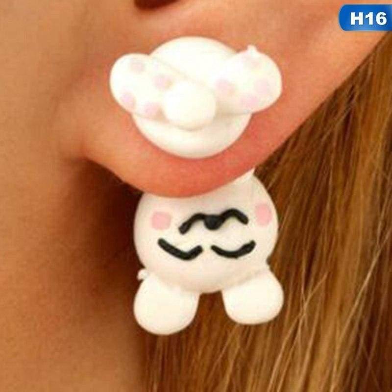 Cute Animal Earrings - H16 - Stud Earrings