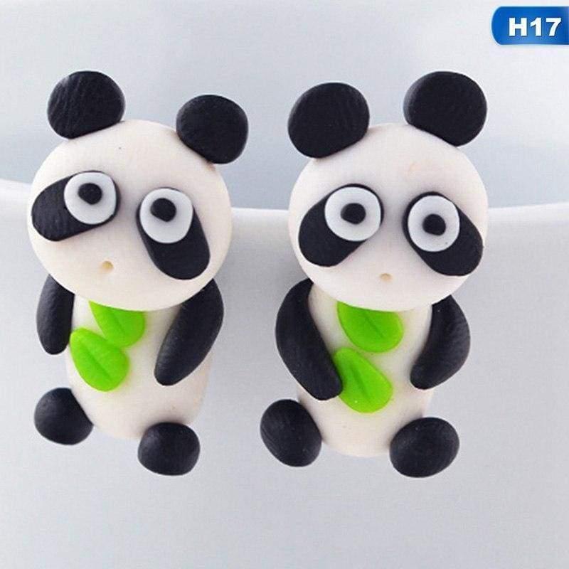 Cute Animal Earrings - H17 - Stud Earrings