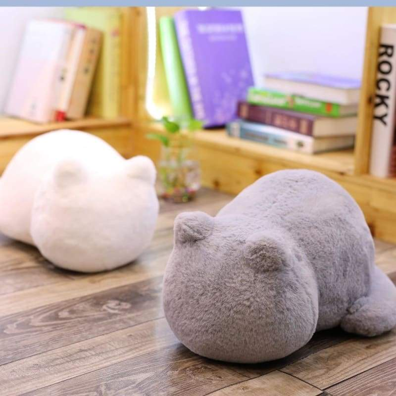 Cute cat fluffy pillow - Cushion