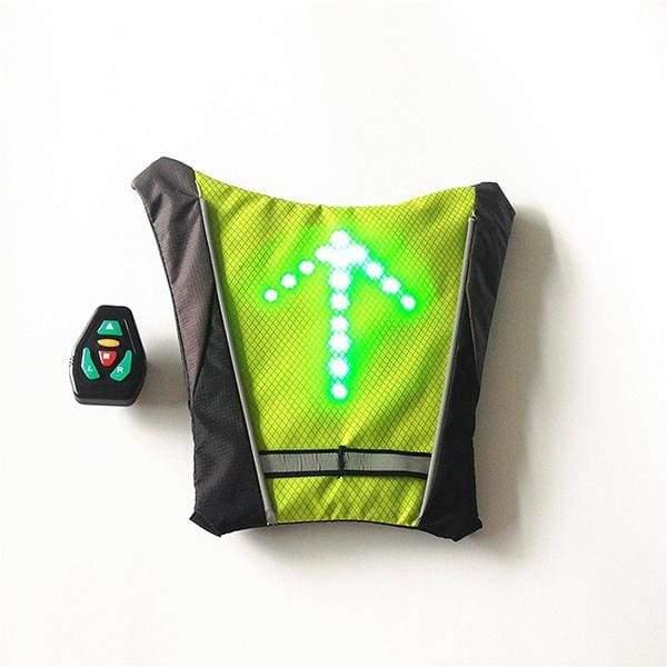 Cycling Signal Indicator - Green - Running Vests