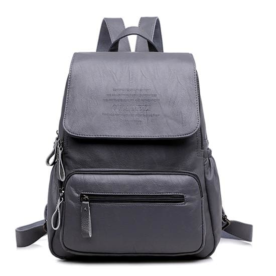 Designer Women Backpack Just For You - Gray / 12 inches - Backpacks