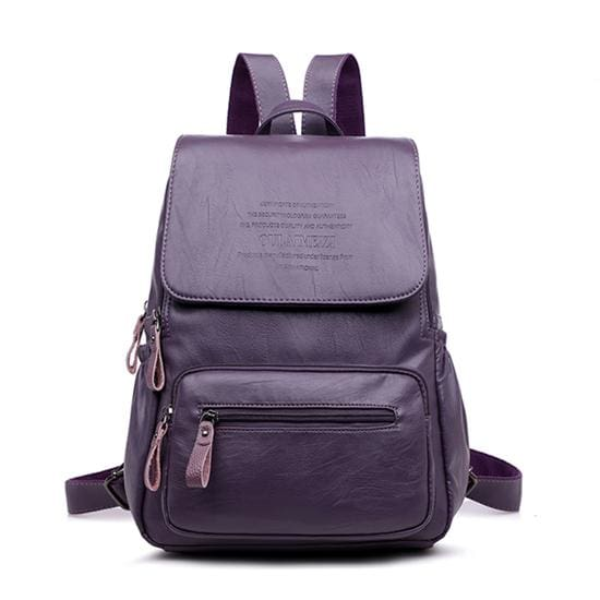 Designer Women Backpack Just For You - Purple / 12 inches - Backpacks