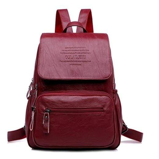 Designer Women Backpack Just For You - Red / 12 inches - Backpacks