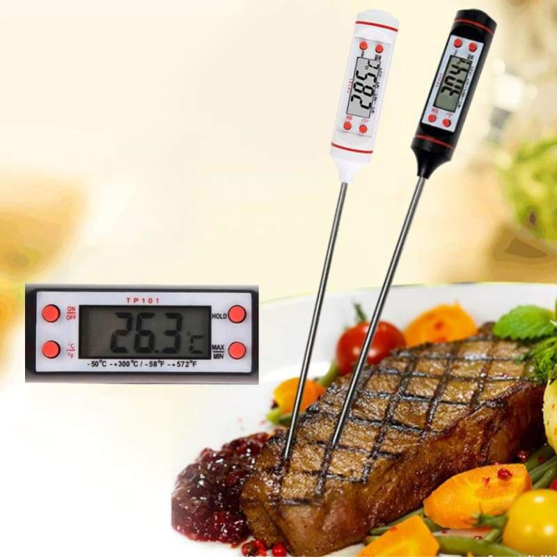 Digital Kitchen Thermometer For BBQ - Temperature Gauges
