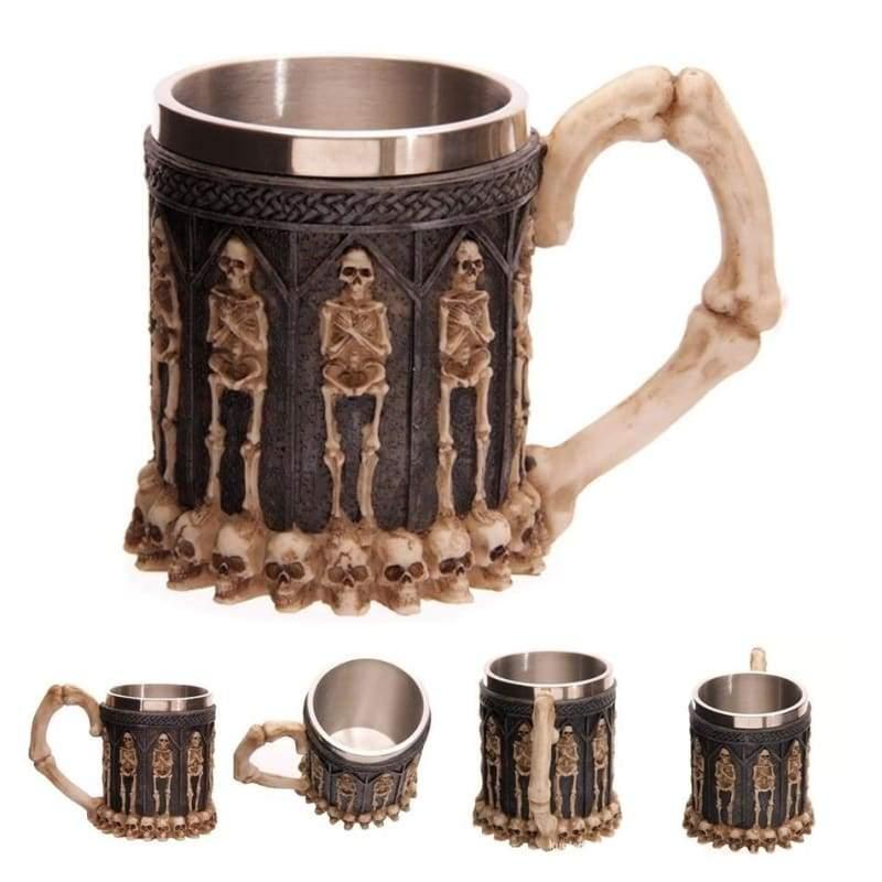 Retro Dragon Mug Skull - Mummy - Mugs