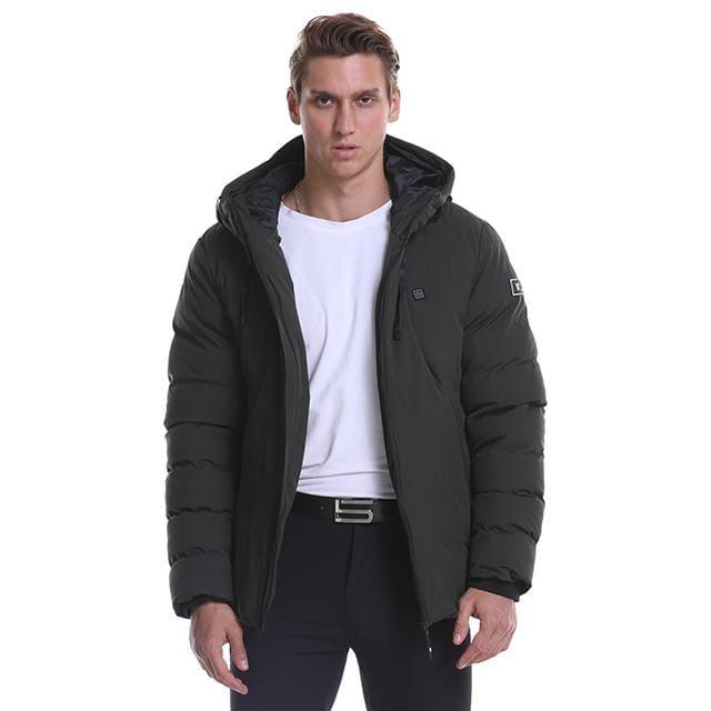 Electric Heated Jacket Vest Mens & Womens - Black / M - Heated Vest1