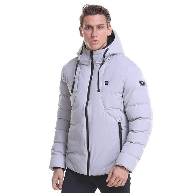 Electric Heated Jacket Vest Mens & Womens - Light gray / M - Heated Vest1
