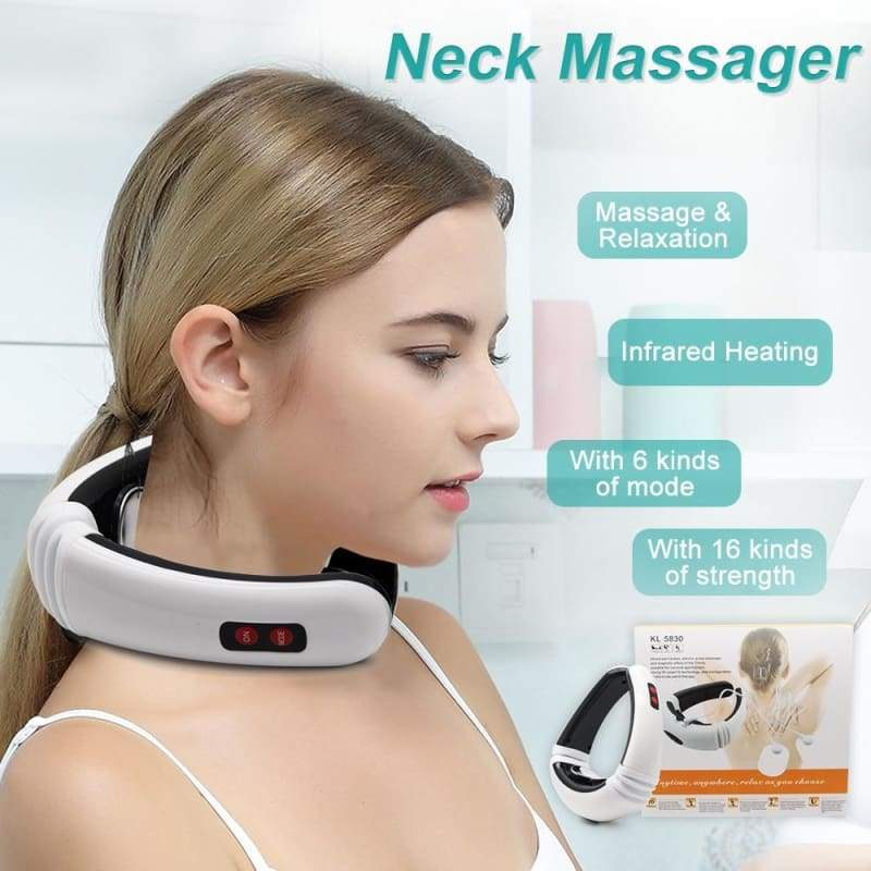 Electric Pulse Back and Neck Massager - Massage & Relaxation