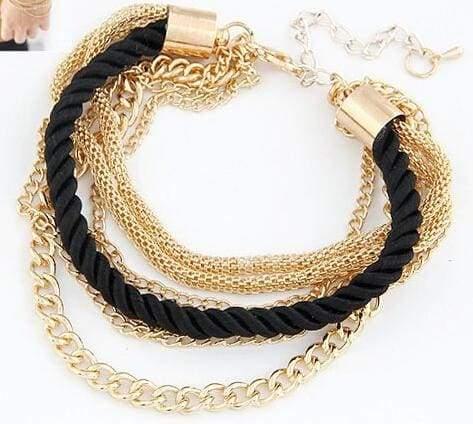 Fashionable Rope Chain Decoration Bracelet - Charm Bracelets