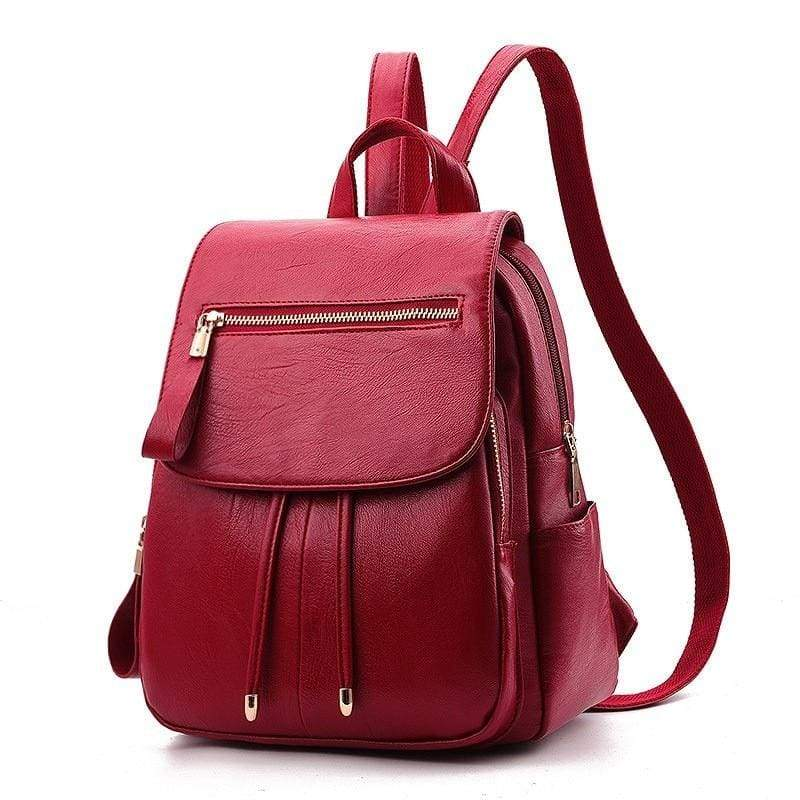 Fashion Backpack Casual Just For You - Red Handbag - Backpacks