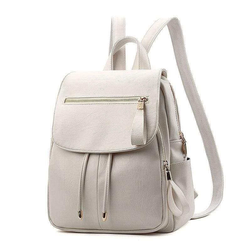 Fashion Backpack Casual Just For You - White Handbag - Backpacks