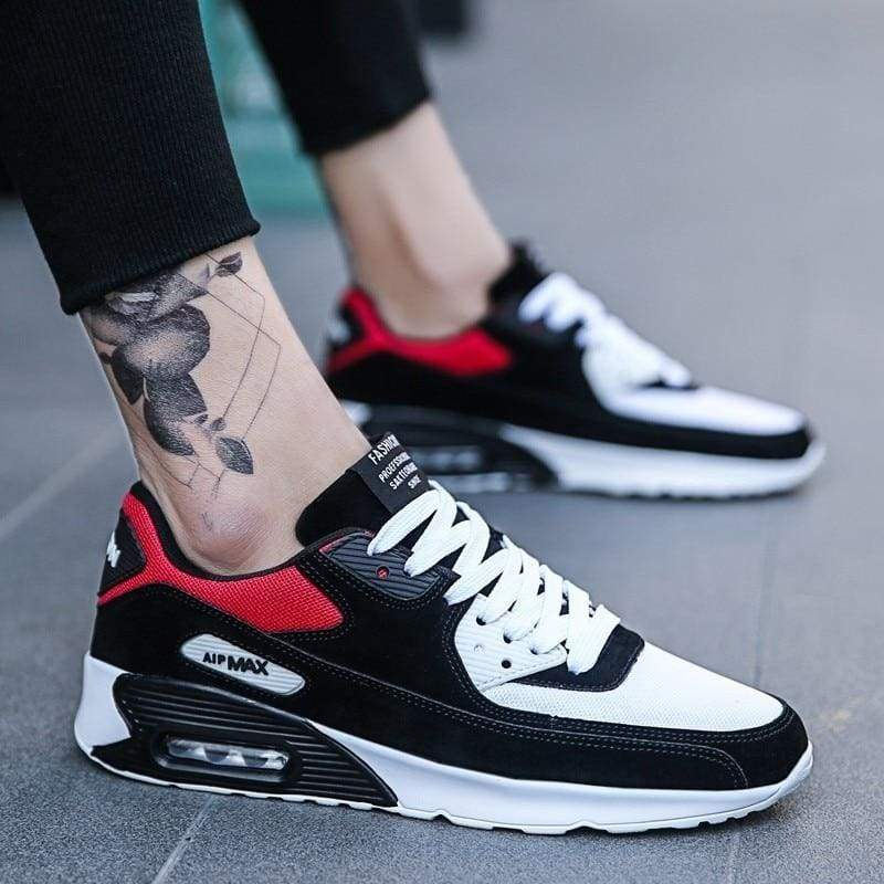 Fashion Casual Shoes Light Sneakers - Z41 Black / 8.5 - Mens Casual Shoes