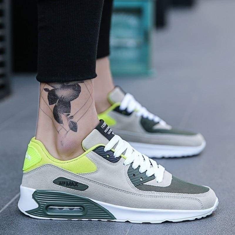 Fashion Casual Shoes Light Sneakers - Z41 Green / 6.5 - Mens Casual Shoes