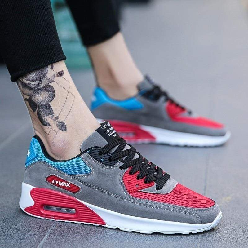 Fashion Casual Shoes Light Sneakers - Z41 Red / 6.5 - Mens Casual Shoes