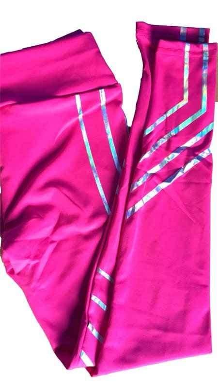 Fashion Slim Leggings - Pink / L - Leggings
