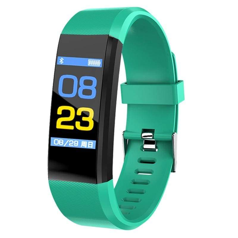 Fitness Tracker Smartwatch - Light blue - Digital Watches
