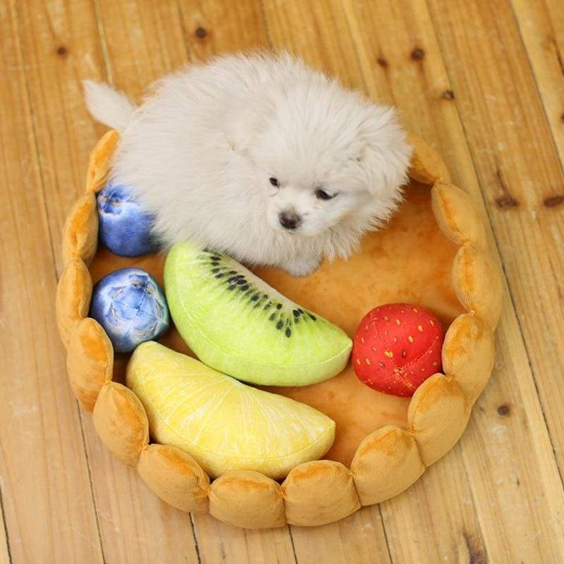 Fruit Tart Cat Bed Just For You - Kennel - Houses Kennels & Pens