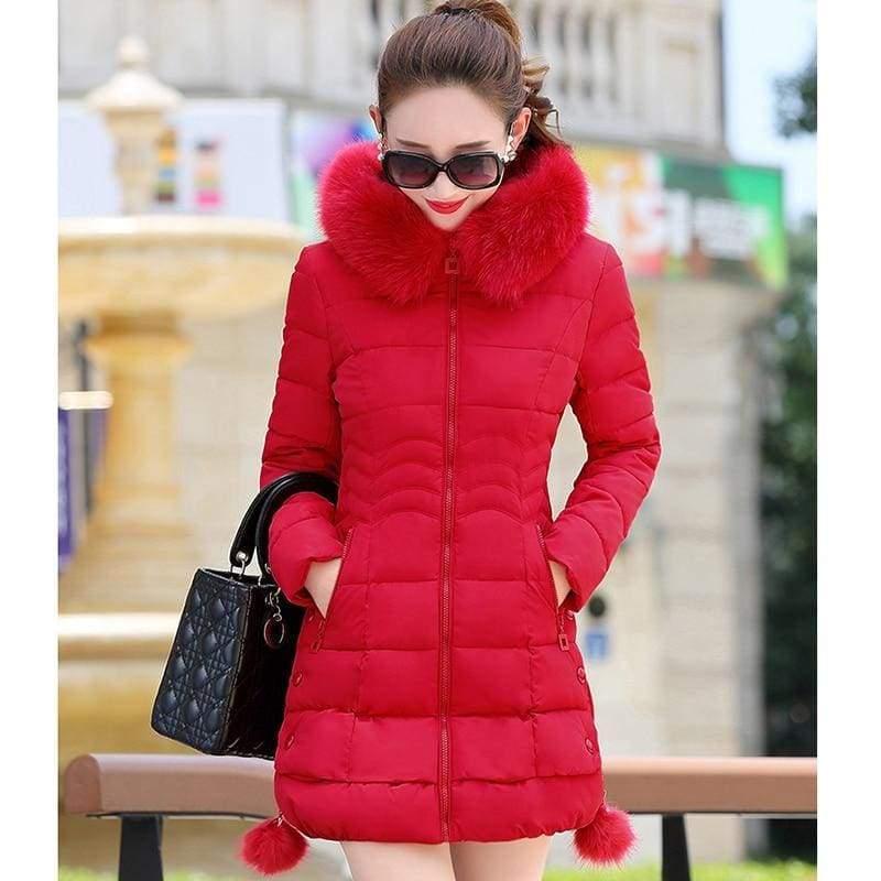 Fur Parkas Women Coat Just For You - Women Coat