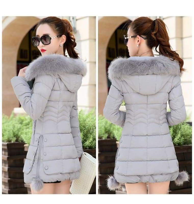 Fur Parkas Women Coat Just For You - Women Coat