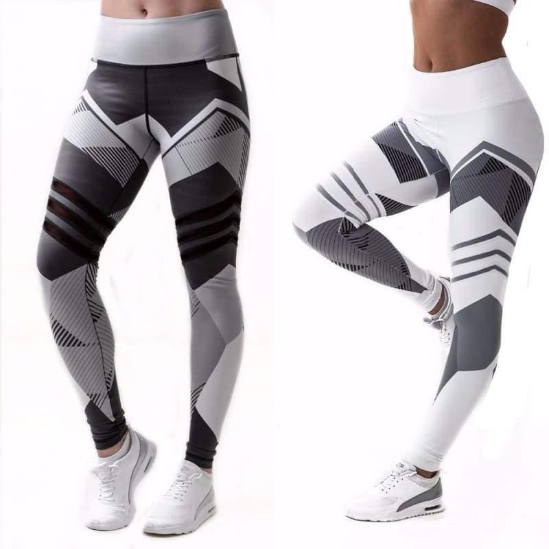 Geometric Leggings Just For You - Yoga Pants