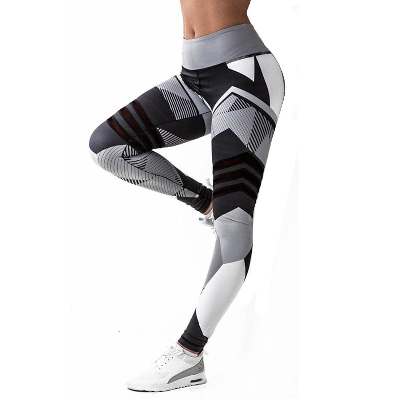 Geometric Leggings Just For You - Yoga Pants