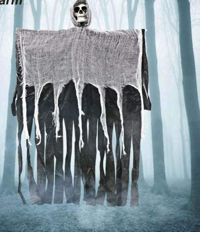 Halloween Hanging Ghost - Black - Party DIY Decorations