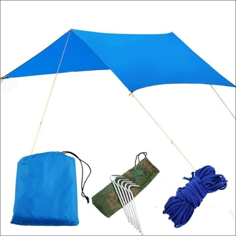 Hammock Tree Tent - blue canopy - Hammock Tree Tent