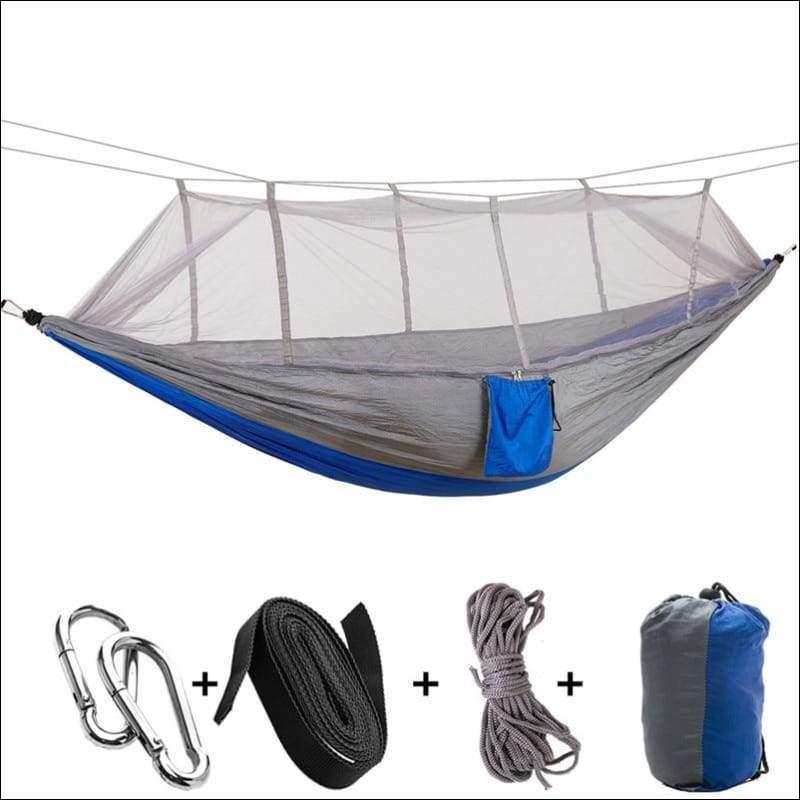 Hammock Tree Tent - blue gray - Hammock Tree Tent