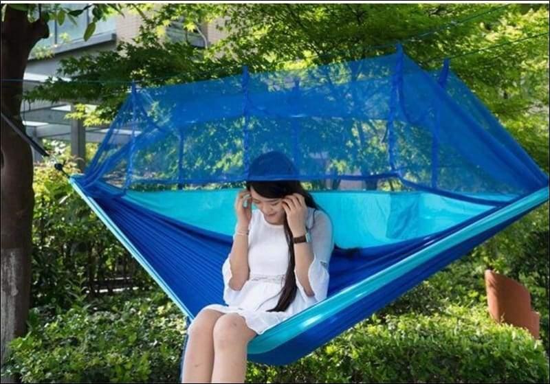 Hammock Tree Tent - blue - Hammock Tree Tent