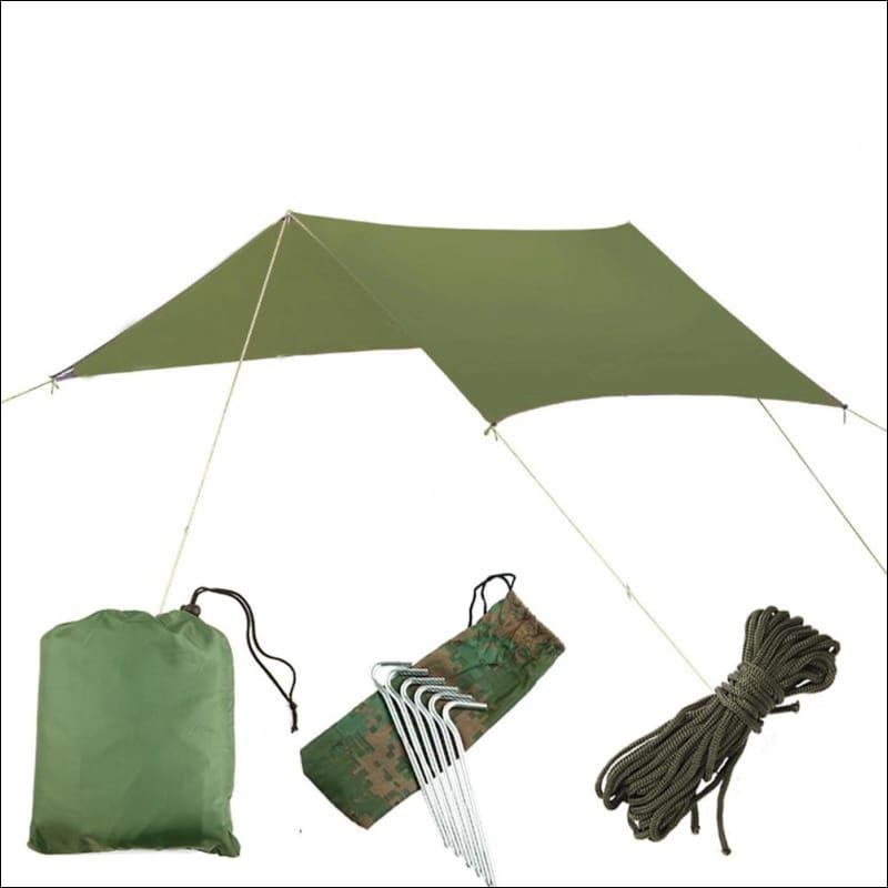 Hammock Tree Tent - green canopy only - Hammock Tree Tent