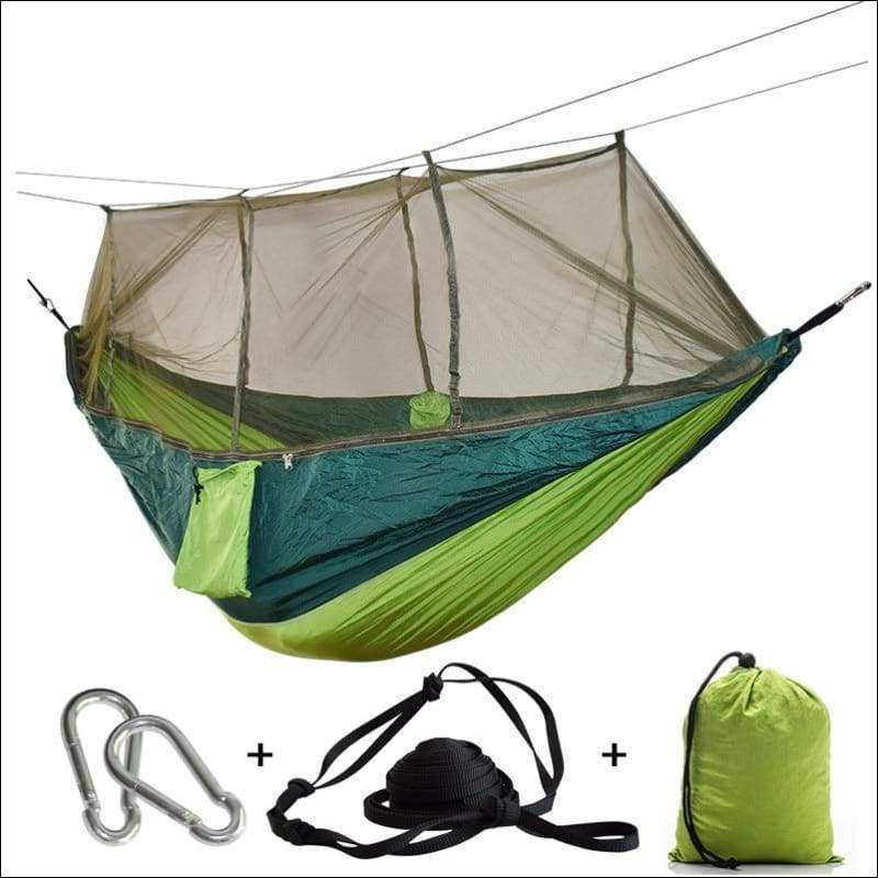 Hammock Tree Tent - green green net - Hammock Tree Tent