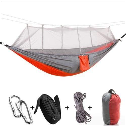 Hammock Tree Tent - Orange gray - Hammock Tree Tent