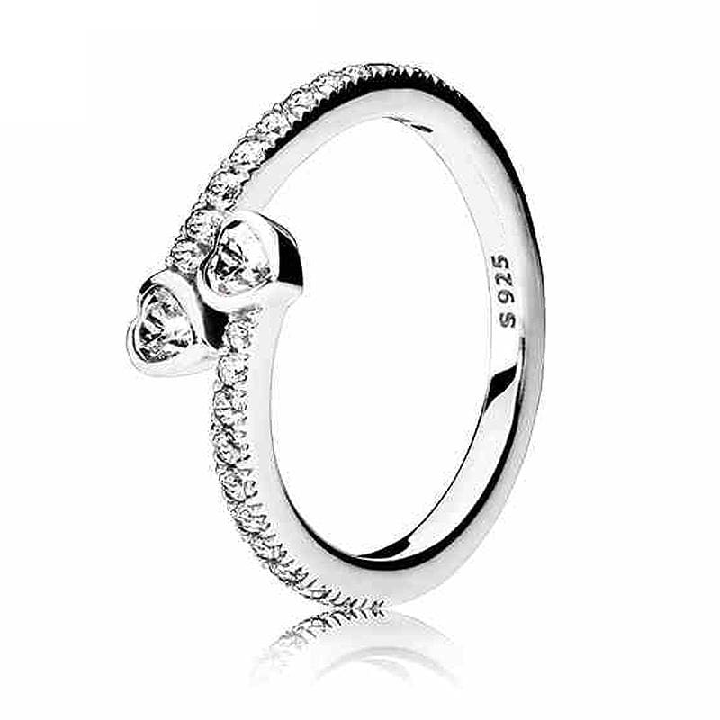 Hearts Of Halo Clover Rings - 6 / 10 - Wedding Bands