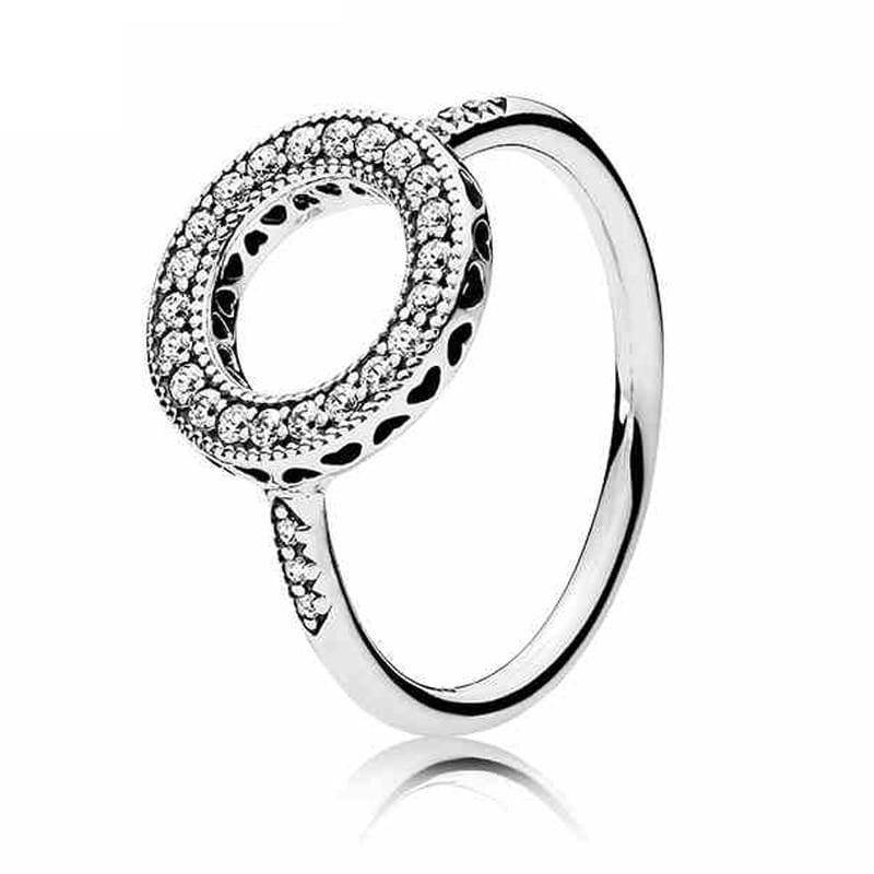 Hearts Of Halo Clover Rings - 6 / 2 - Wedding Bands