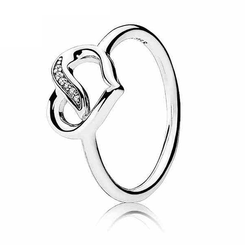 Hearts Of Halo Clover Rings - 6 / 9 - Wedding Bands