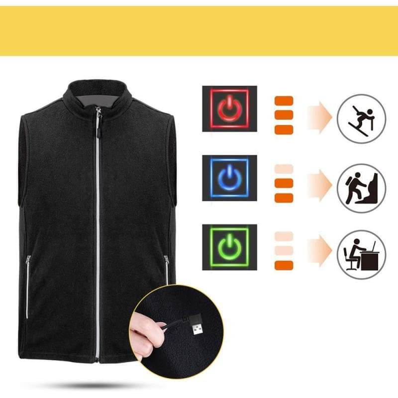 Heated Vest Outdoor Just For You - Heating Vest1