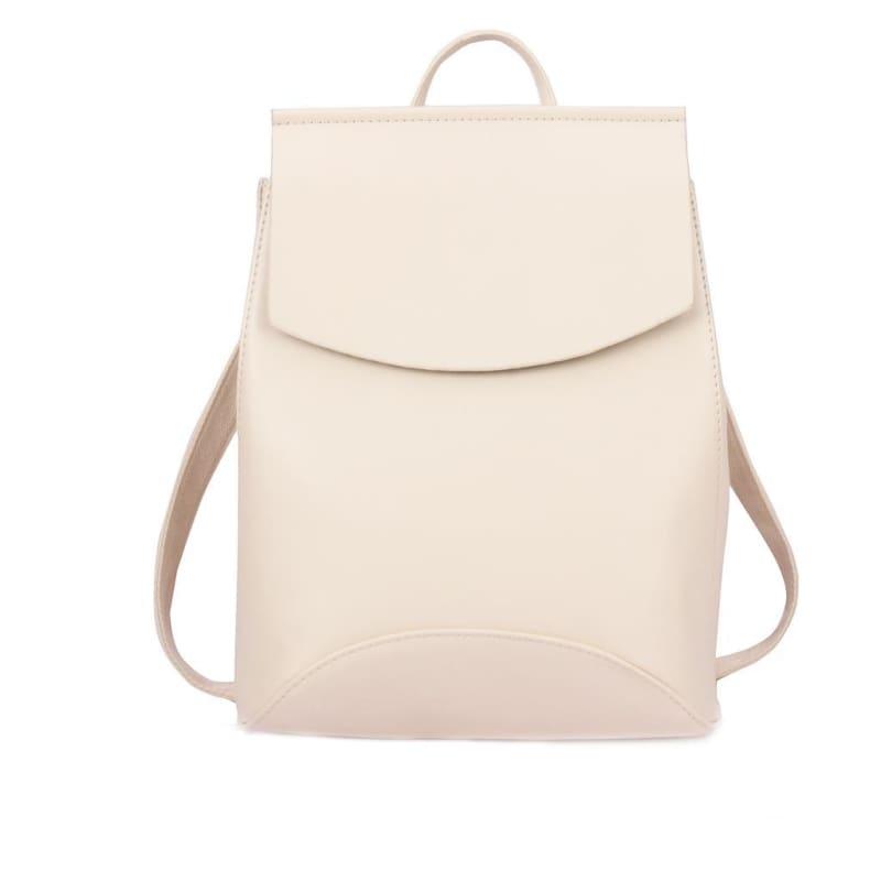 High Quality Women Backpack - White - Backpacks