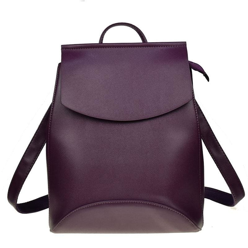 High Quality Women Backpack - dark Purple - Backpacks