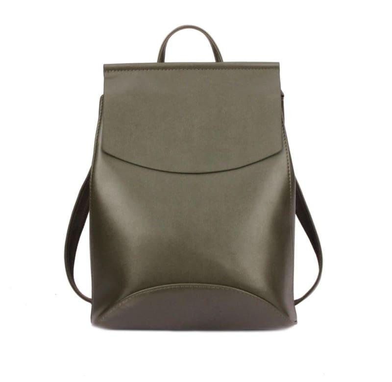 High Quality Women Backpack - Army Green - Backpacks
