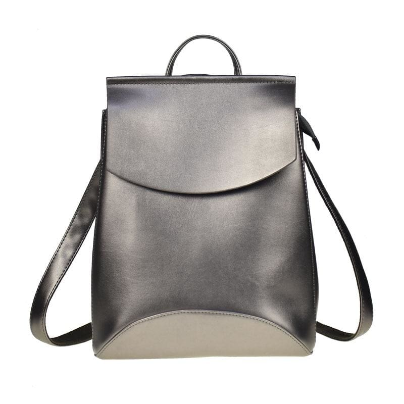High Quality Women Backpack - Silver - Backpacks