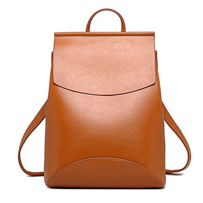 High Quality Women Backpack - Brown - Backpacks