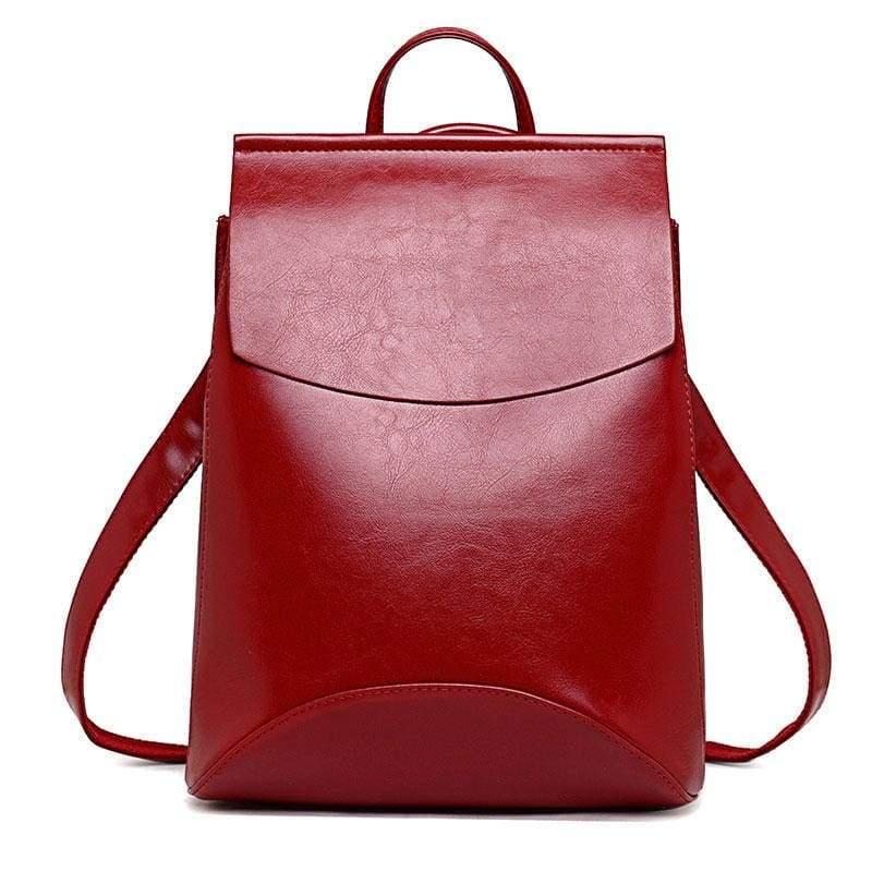 High Quality Women Backpack - Red - Backpacks