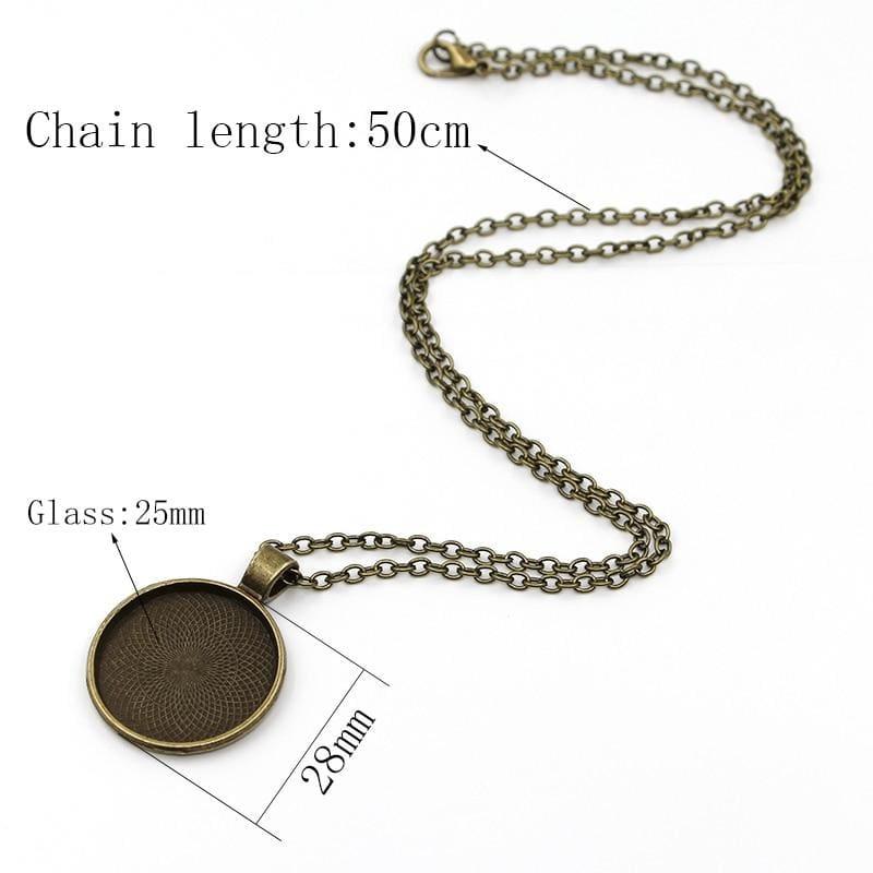 Jesus paid it all necklace - Pendant Necklaces