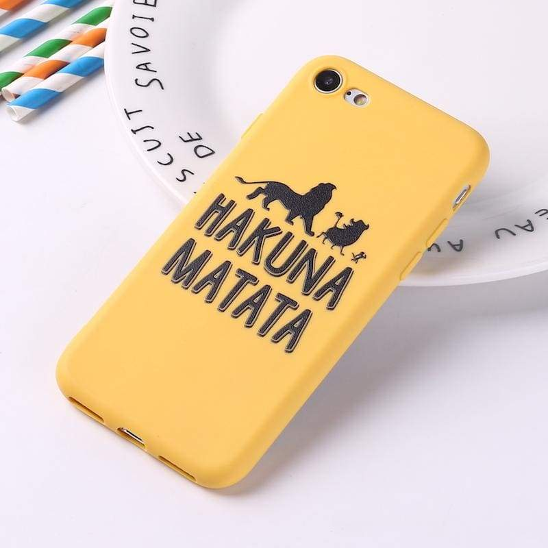 Lion King iPhone Case Cover - 1 / For iPhone 5 5S SE - Fitted Cases