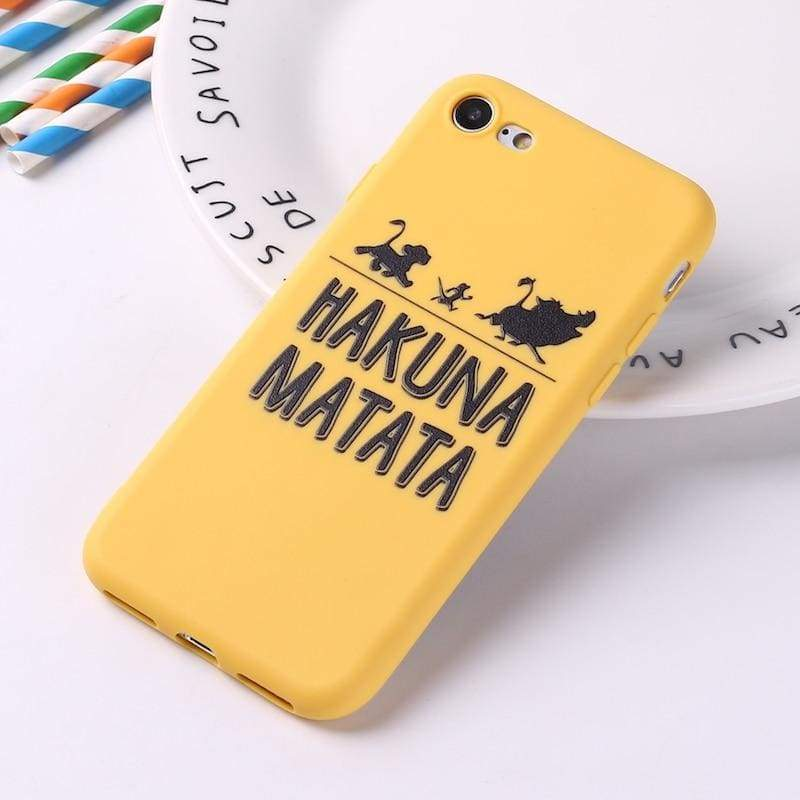 Lion King iPhone Case Cover - 2 / For iPhone 5 5S SE - Fitted Cases